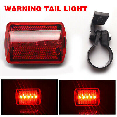 mountain bicycle tail safety warning lamp cycling bike rear reflector lightC$T