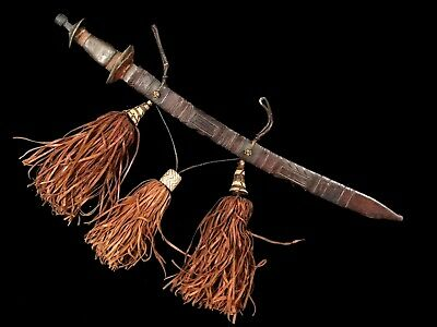 West African Mandingo Sword complete with Large Tassels