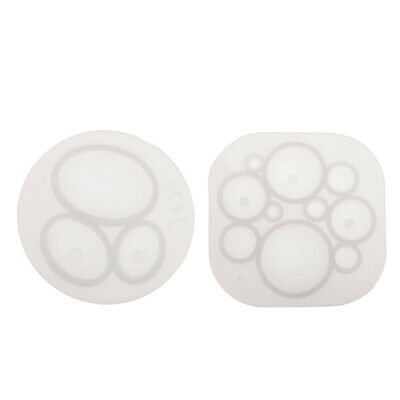 Silicone Dome Cabochon Pendant Mold Resin Casting Mould Jewelry Making Mould