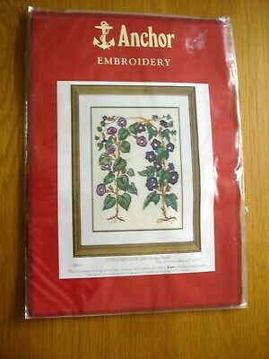 Anchor Hand Embroidery Kit Convolvulus After George Mack PE610 Sealed New