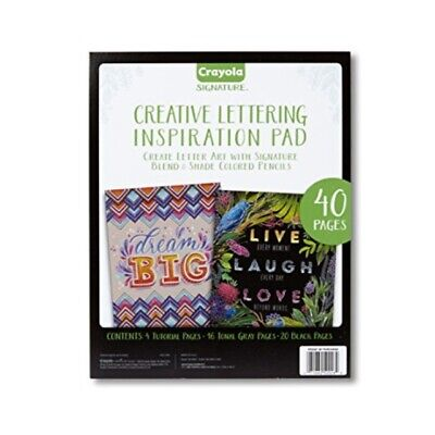 Crayola Chalkboard Hand Lettering Tutorials and Worksheets for Beginners, Mothe