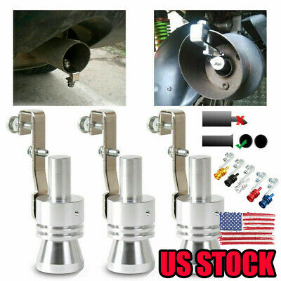 US STOCK Whistle Sound Exhaust Pipe Oversized Tube Roar Maker 2019- High Quality