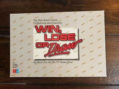 WIN, LOSE or DRAW Game by Milton Bradley #4710 Vintage Complete Set