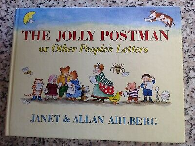 THE JOLLY POSTMAN OR OTHER PEOPLE'S LETTERS book by JANET AND ALLAN AHLBERG