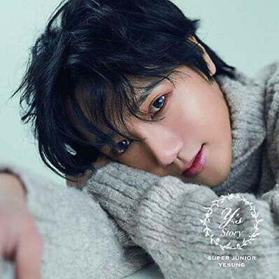 New SUPER JUNIOR YESUNG STORY First Limited Edition CD+DVD+Card AVCK-79551 Japan