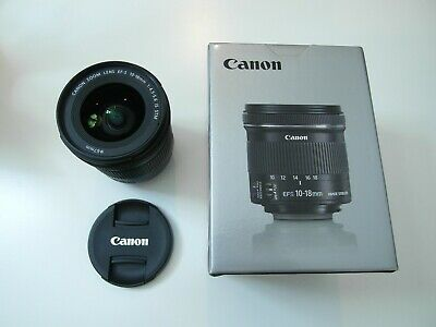 Canon 10-18mm f/4.5-5.6 EF-S IS STM Lens, Ultra-wide-angle zoom lens