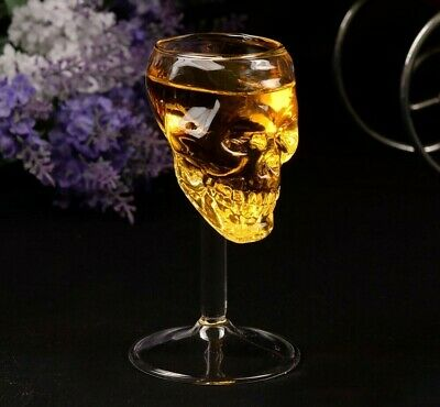 Transparent Crystal Skull Head Cup Vodka Wine Whisky Drinking Party Fun Goblet