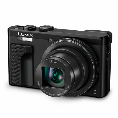 "Panasonic Lumix DMC-TZ80EB-K WIFI 30x Optical Zoom 3"" LCD Camera 4K 18.1MP Black"