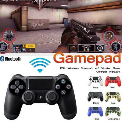 Wireless Bluetooth Game Controller Dual Vibration Gamepad For PS4 PlayStation4