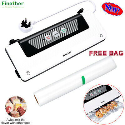 Electric Food Vacuum Sealer Kitchen Storage saver Sous Vide Packing Machine+Roll