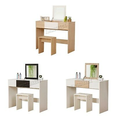 WestWood Dressing Table - Modern MakeUp Table Furniture With Lift Up Mirror DT10