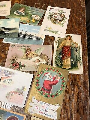 Lot of 30 plus Antique & Vintage Postcards,1900s-1970s. Used some have stamps !!