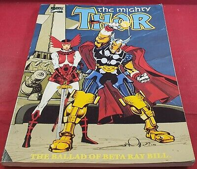 The Mighty Thor the Ballard of Beta Ray  Ultra RARE Comic VGC