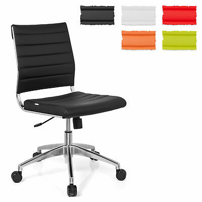 Office Chair Professional Chair Swivel PU Leather Elegance TRISHA hjh OFFICE