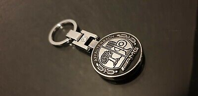 Genuine Mercedes AMG Affalterbach Keyring All Models DOUBLE SIDED!!