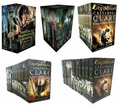 Cassandra Clare Series Books Collection Set Mortal Instruments Infernal Devices