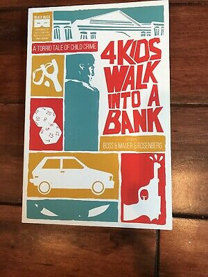 4 Kids Walk Into A Bank TPB Graphic Novel Great Condition 2016 Black Mask