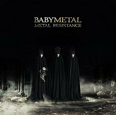 BABYMETAL METAL RESISTANCE First Limited Edition CD DVD F/S w/Tracking# Japan