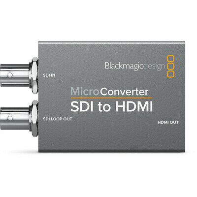 Blackmagic Design Micro Converter SDI to HDMI NO PSU - Ships from Miami