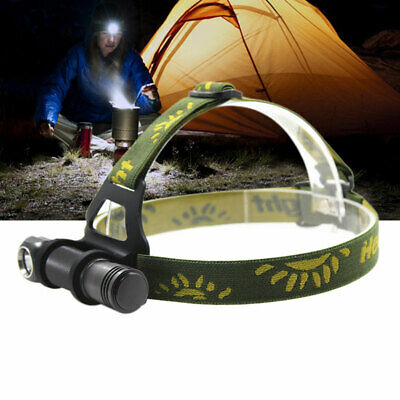 10W Bright LED H6 XHP V6 Dimming Headlamp Hiking 1000LM Camping Head Torch Lamp