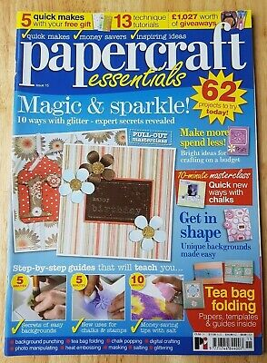 PAPERCRAFT ESSENTIALS MAGAZINE #168 - December 2018 ~ Sealed With