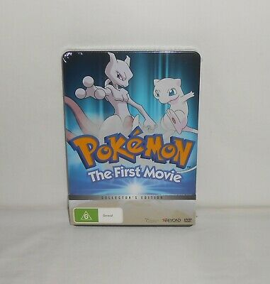 New Sealed DVD Pokemon The First Movie Mewtwo Strikes Back Region 4