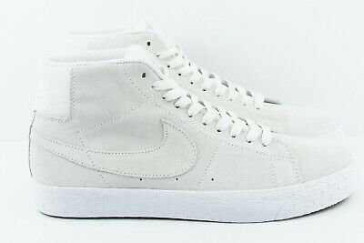 the latest 897ca cd78c Nike SB Zoom Blazer Mid Decon Mens Size 9.5 Skate Shoes AH6416 100 Summit  White