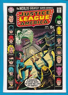 Justice League Of America #83_September 1970_Very Fine_Batman_Bronge Age Dc!