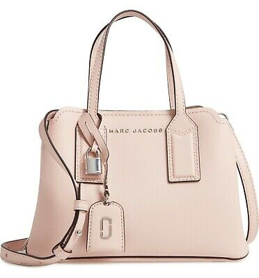 ff76075b4f1 Marc Jacobs Authentic The Editor Leather Handbag Bag Pearl Pink Silver $425  NWT