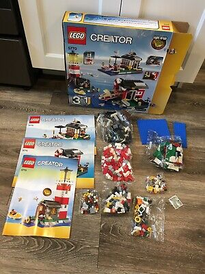 LEGO Creator Lighthouse Island 5770 New in Sealed Bags 100/% Complete No Box