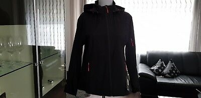 e429bb190fb43 McKINLEY Damen Softshelljacke Birch Creek 3 Kapuze Outdoor Sport Freizeit  Jacke