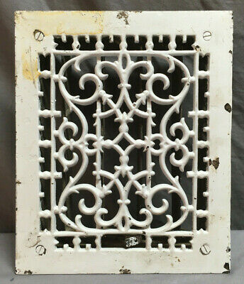 Antique Highton & Son Decorative Heat Grate Floor Register 12X10 242-19L