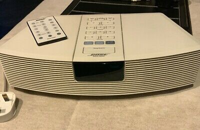 Bose Wave AM/FM Radio/Alarm - AWR1-W2 With Shortened Cable and Remote