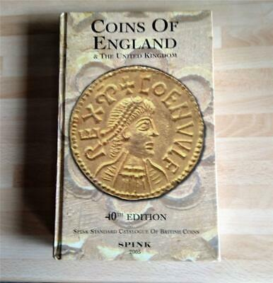 Spink Coins of England & the United Kingdom  - Hardback - 40th Edition