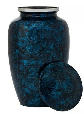 Eternal Harmony Cremation Urn for Human Ashes - Handcrafted Funeral Urn