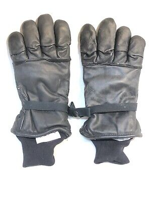Us Military Gloves S Men's Women's Intermediate Cold Wet Weather Lined Leather