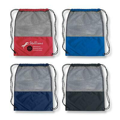 100 x Mesh Sports Pack/Bags Bulk Gifts Promotion Business Merchandise
