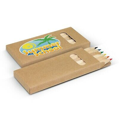 250 x Coloured Pencil Pack Bulk Gifts Promotion Business Merchandise