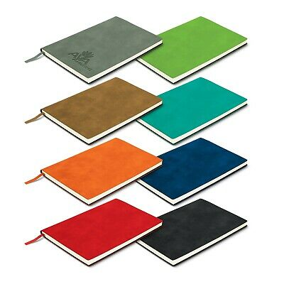 50 x Genoa Soft Cover Notebook Bulk Gifts Promotion Business Merchandise