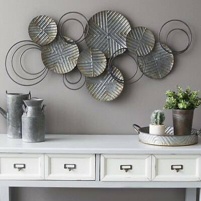 Metal Wall Decor Wall Art Hanging Sculpture Home  Decor Abstract BIG 120 CM