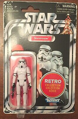 Star Wars Stormtrooper Retro Collection action figure - NEW