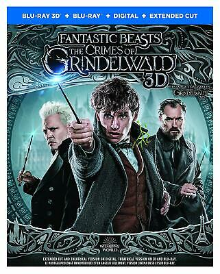 Fantastic Beasts: The Crimes of Grindelwald 3D ( 2D/3D Blu-ray/Digital) w/ Slip