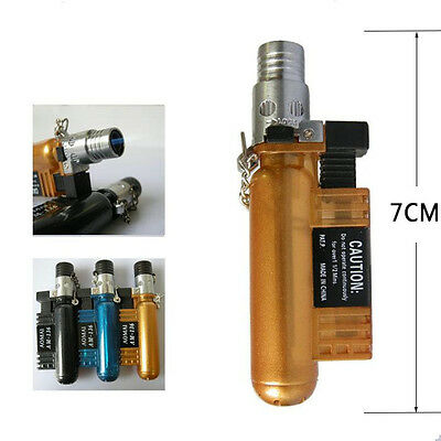 Windproof Butane Jet Torch Gas Refillable Smoking Cigar Cigarette Lighter 136