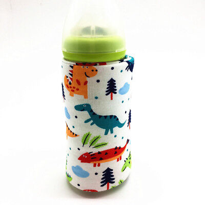 USB Baby Feeding Bottle Warmer Cover Travel Cup Heater Infants Food Storage Tool