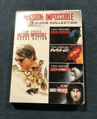 Mission: Impossible, The 5 Movie Collection, Widescreen, Tom Cruise