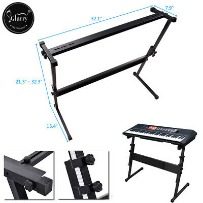 Glarry Electric Piano X Stand Music Keyboard Standard Portable Rack Adjustable