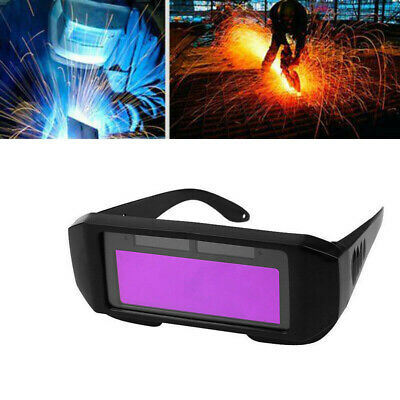Solar Powered Auto LCD Darkening Welding Mask Helmets Eyes Goggle Welder Glass