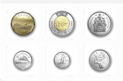 2019 Canada Brilliant Uncirculated set - IN STOCK - all the traditional designs