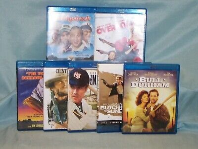 Blu Ray Movie Collection - 7 Movies