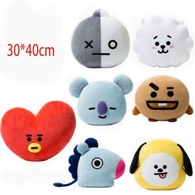 Hot BTS BT21 TATA SHOOKY RJ Plush Toy SUGA COOKY Pillow Doll Sofa Cushion Dol US